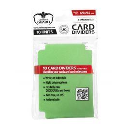 UG Kartentrenner Standardgröße Grün (10 St.)