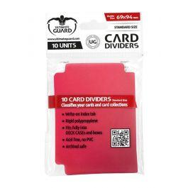 UG Kartentrenner Standardgröße Rot (10 St.)