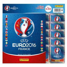UEFA EURO 2016 Sticker Album + 10 Tüten Starter (DE)