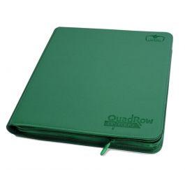 Ultimate Guard 12-Pocket QuadRow ZipFolio XenoSkin Grün