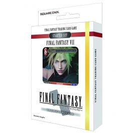 Final Fantasy VII - Feuer & Erde Sammelkarten Starter (DE)