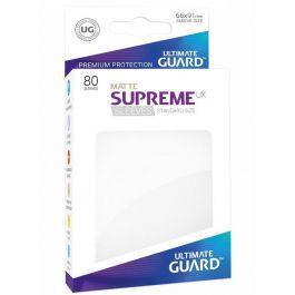 UG Supreme UX Sleeves - Standard Matt Weiß (80 St.)