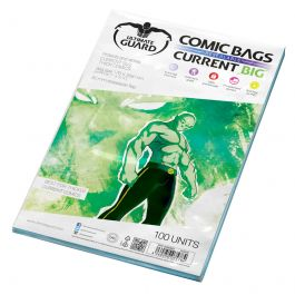 Ultimate Guard Resealable Comic Bags BIG Current Size (100 St.)
