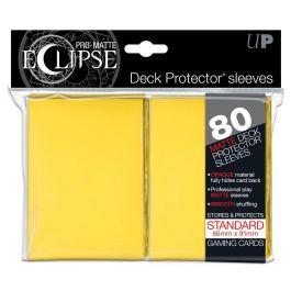 UP Deck Protector PRO-MATTE ECLIPSE Gelb (80 St.)