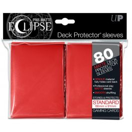 UP Deck Protector PRO-MATTE ECLIPSE Rot (80 St.)