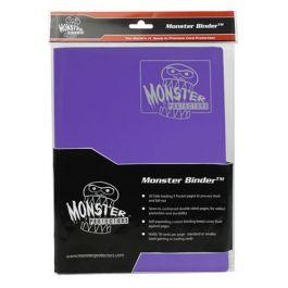 Monster Binder 9 Pocket Matte Purple