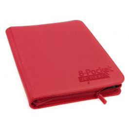 Ultimate Guard 8-Pocket QuadRow ZipFolio XenoSkin Rot