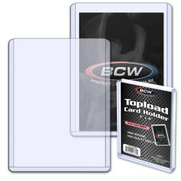 BCW 3 x 4 Inch Topload - Thick Card Holder 360pt