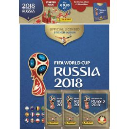 FIFA 2018 World Cup Sticker Hardcover Album (DE)