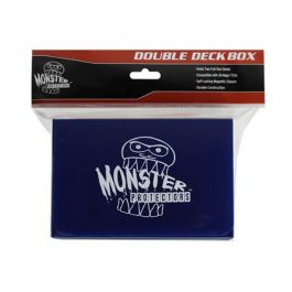 Monster Magnetic Double Deck Box Blau