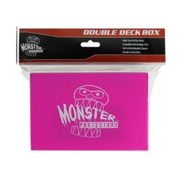 Monster Magnetic Double Deck Box Pink