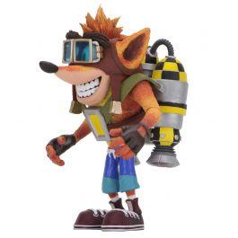 Crash Bandicoot - Deluxe Crash with Jetpack Figur