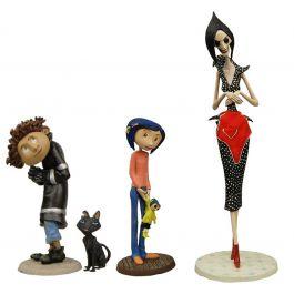 Coraline - PVC Minifiguren - Best Of - 4er Figuren Set