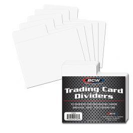 BCW Trading Card Dividers Horizontal - Titeltrenner 10 Stück