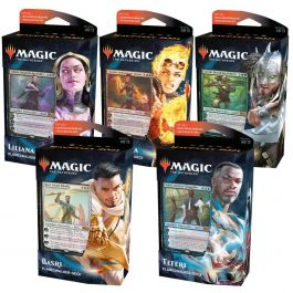 Magic 2021 Hauptset Planeswalker-Decks 5er Set (DE)