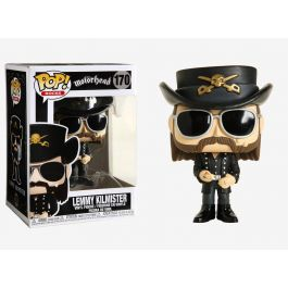 POP! - Music - Motörhead Lemmy Kilmister Figur mit Brille