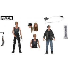 Terminator 2 – Sarah Connor and John Connor Actionfiguren-Set
