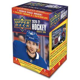 2020-2021 Upper Deck Series Two - Hockey Blaster Box