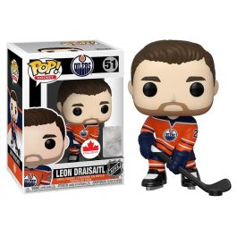 NHL POP! - Leon Draisaitl - Edmonton Oilers Home Figur