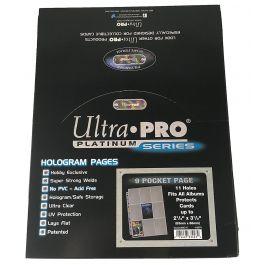 Hüllen für 9 Karten - 9-Pocket Pages Platinum (100 Stück)