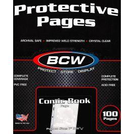 BCW Pro Comic Book Pages (100 Stück)