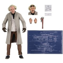 Zurück in die Zukunft - Doc Brown Ultimate Actionfigur