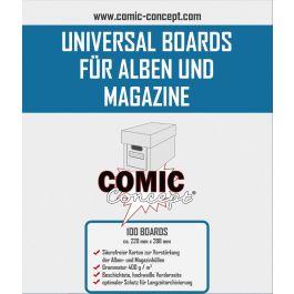 Comic Backing Boards Magazine Size (100 St.)