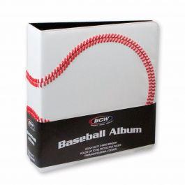 BCW Premium Baseball Album weiß