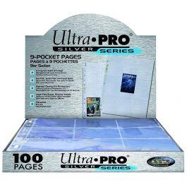 Ultra Pro Hüllen für 9 Karten Silber-Serie (100 Stück)