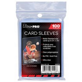 Soft Sleeves - 100 Stück Schutzhüllen für Sammelkarten