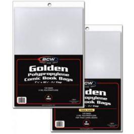 BCW Golden Comic Book Bags (100 St.)