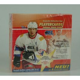 2004-05 DEL Playercards Display