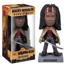 The Walking Dead - Michonne Bobble-Head Figur