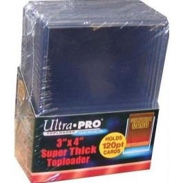 Topload 3 x 4 Inch - Super Thick Cards 120pt (10 St.)