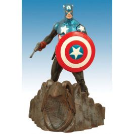 Marvel Select Figur - Captain America Special Collectors Edition