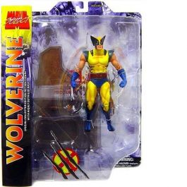 Marvel Select - Yellow Wolverine Collector Edition Figur