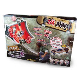 GX Skate Racers GyroPower Quarter-Pipe inkl. Skateboard