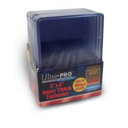 Topload 3 x 4 Inch (Super Thick Cards 180pt) (10 St.)