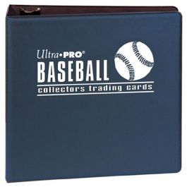 Album Baseball - Ringbuchordner Blau - 3-Inch Format