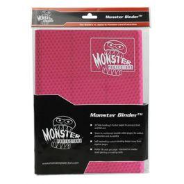 Monster Binder 9 Pocket Holofoil Pink