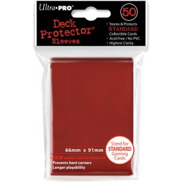 Deck Protector Sleeves Lava Red (50 St.)