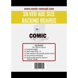Comic Backing Boards Silver Age Size (100 St.)