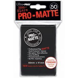 Pro-Matte Sleeves Black (50 St.)