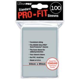 Ultra Pro Standard Pro-Fit Sleeves (100 Hüllen)