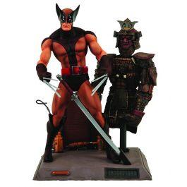 Marvel Select - Wolverine Brown Uniform Figur
