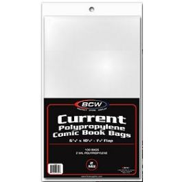 BCW Current Thick Comic Book Bags (100 St.)