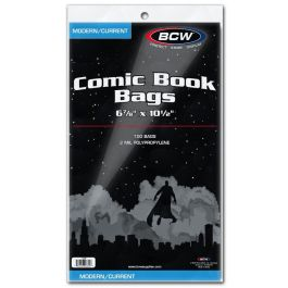 BCW Current Comic Book Bags (100 St.)