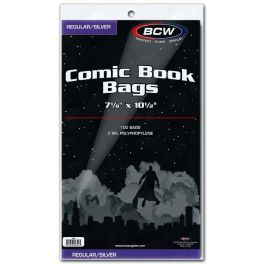 BCW Silver Comic Book Bags (100 St.)