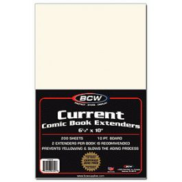 BCW Current Comic Book Extenders (200 St.)