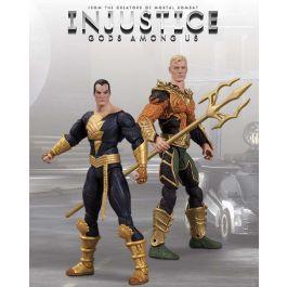 Injustice - Aquaman vs. Black Adam Action-Figuren 2-Pack